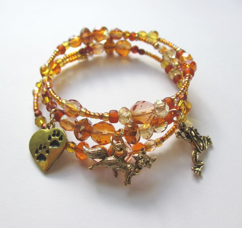 Inspired by… The Cunning Little Vixen - The Vixen Bracelet